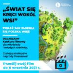 """""""Świat się kręci wokół wsi"""" – ogólnopolski konkurs filmowy"""